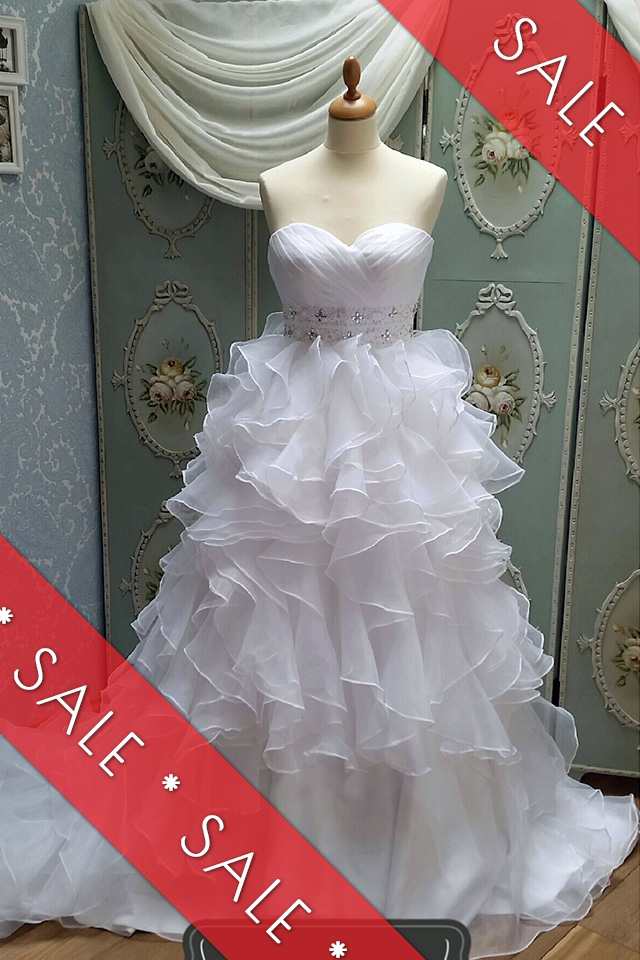 Wedding dress by Bride's First Choice
